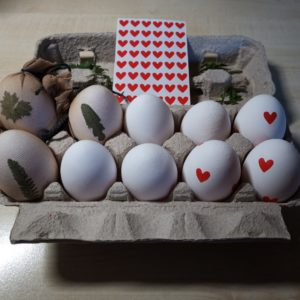 geschmückte Eier