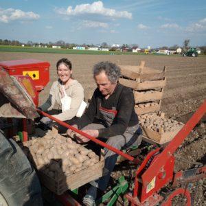Bauer Hans und Steffi
