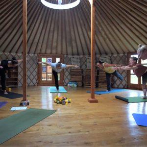 Yoga in der Jurte: Held III