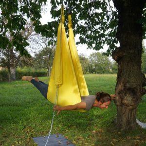 Aerial Yoga: Angelika